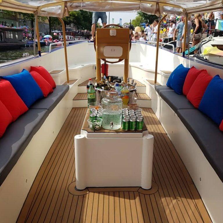 Amsterdam Strip Boat