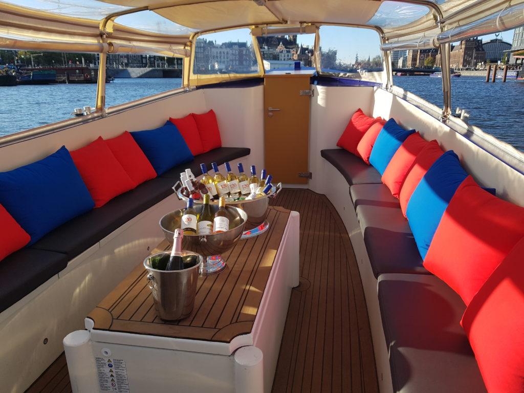 BBQ cruise Amsterdam