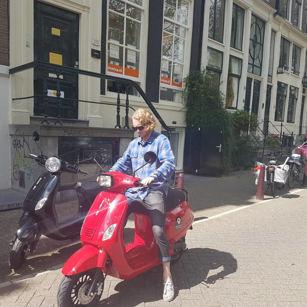 Scooter rental Amsterdam