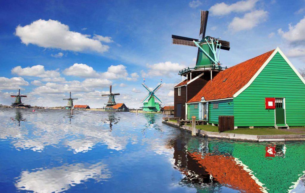 Windmill tour Amsterdam