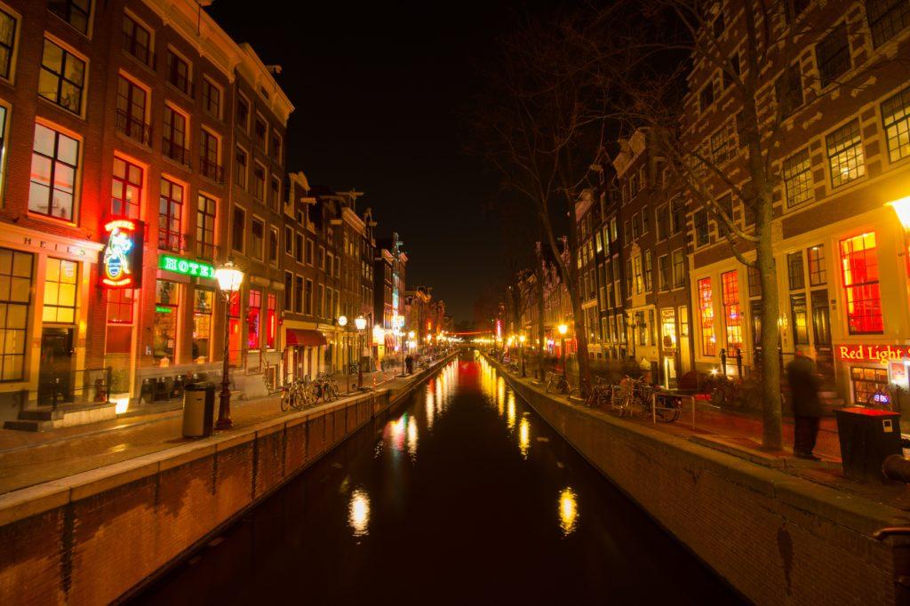 redlight district amsterdam