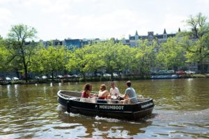 Bootsverleih in Amsterdam