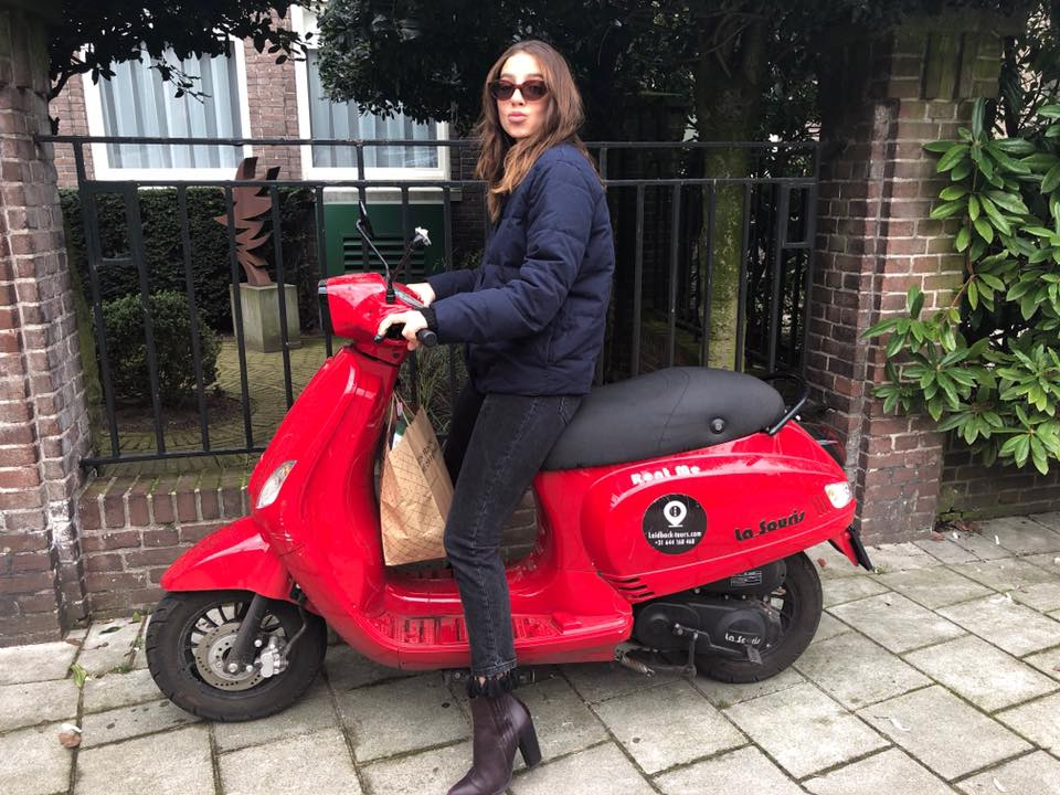 השכרת קטנוע באמסטרדם