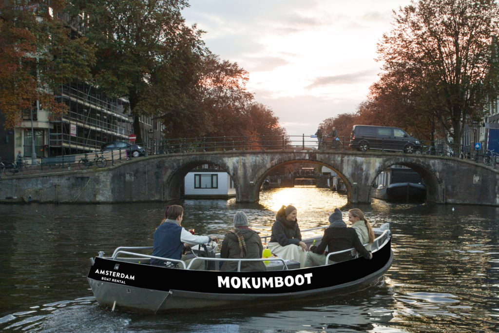 שייט תעלות באמסטרדם
