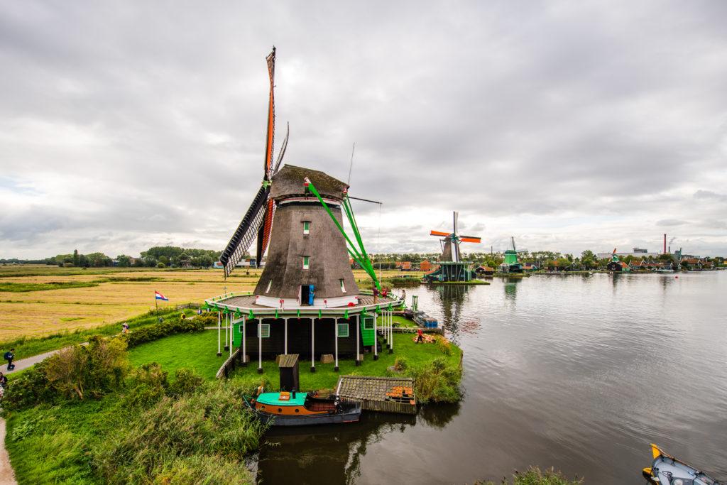 veterne mlyny v holandsku