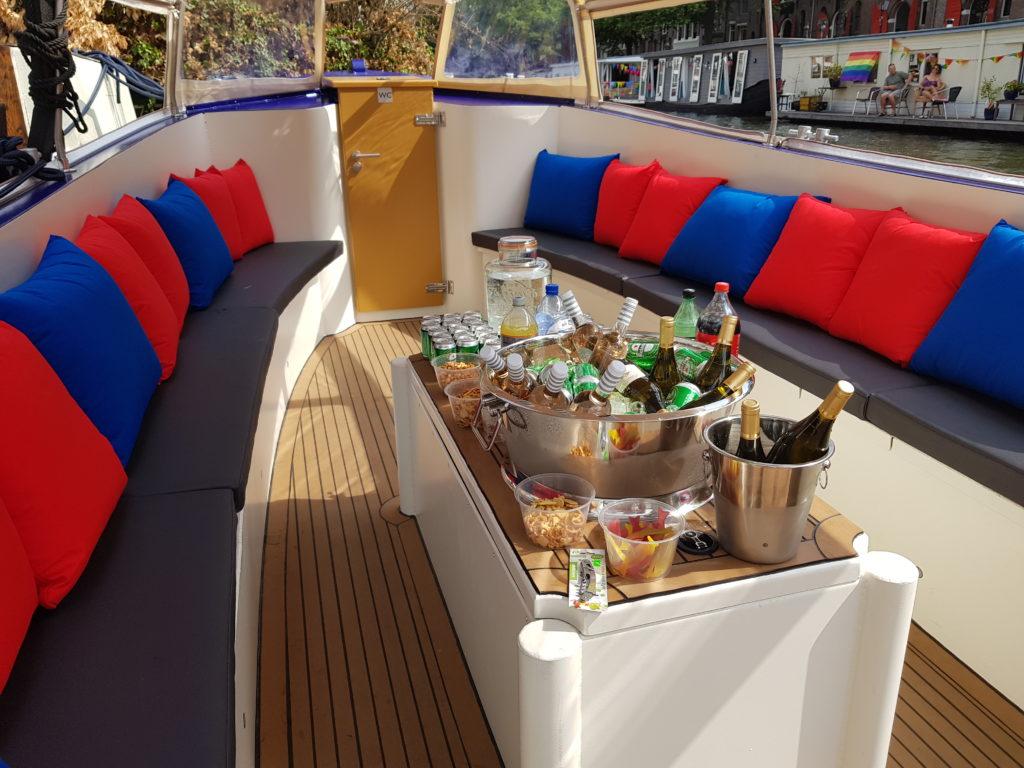 Private boat tour Amsterdam